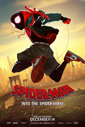 Spider-Man: Into the Spider-Verse | HD | Movies Anywhere or VUDU | USA
