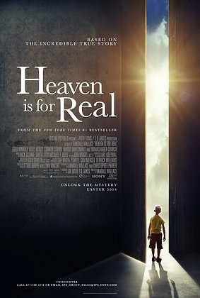 Heaven Is for Real | SD | Movies Anywhere or VUDU | USA