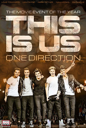One Direction: This is Us | SD | Movies Anywhere or VUDU | USA