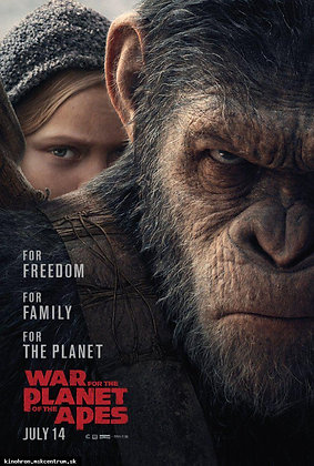 War for the Planet of the Apes | HD | MA, VUDU, iTunes or GP | USA
