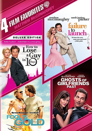 4 Film Favorites: Matthew McConaughey Collection | HD | VUDU | USA