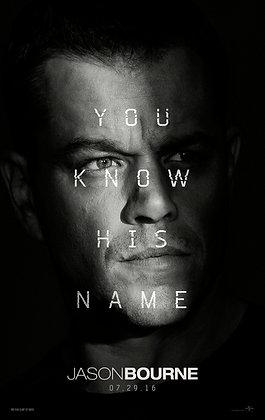 Jason Bourne | HD | Movies Anywhere or VUDU | USA