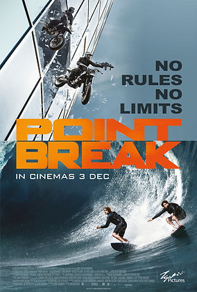 Point Break (2015) | HD | Movies Anywhere or VUDU | USA