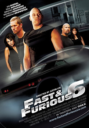 Fast & Furious 6 (Extended Edition) | HD | Movies Anywhere or VUDU | USA