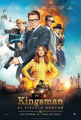 Kingsman: The Golden Circle | HD | MA, VUDU, iTunes or GP | USA