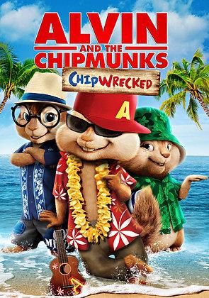 Alvin and the Chipmunks: Chipwrecked | HD | MA, VUDU, iTunes or GP | U