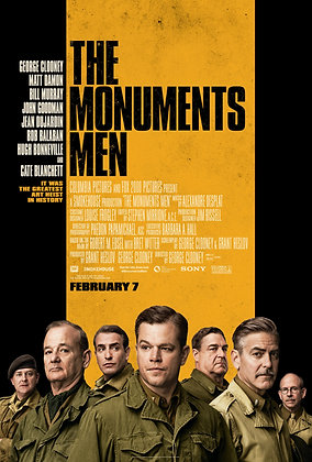 Monuments Men, The | HD | Movies Anywhere or VUDU | USA