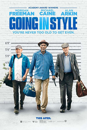 Going in Style | HD | Movies Anywhere or VUDU | USA