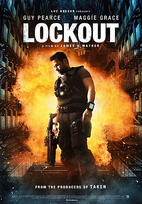 Lockout (Unrated) | HD | Movies Anywhere or VUDU | USA