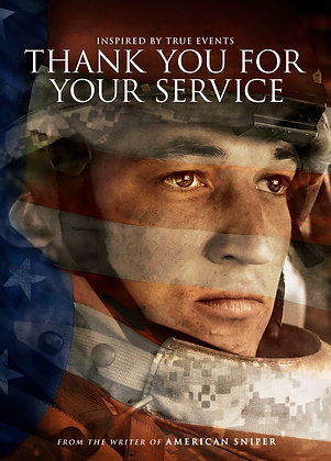 Thank You for Your Service | HD | Movies Anywhere or VUDU | USA