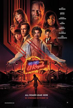 Bad Times at the El Royale | HD | Movies Anywhere or VUDU | USA