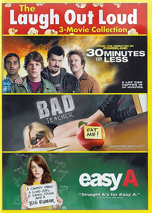 Laugh Out Loud: 3 Movie Collection | SD | Movies Anywhere or VUDU | USA