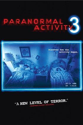 Paranormal Activity 3  | HD | iTunes | USA
