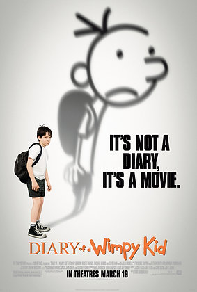 Diary of a Wimpy Kid | HD | Movies Anywhere, VUDU or iTunes | USA
