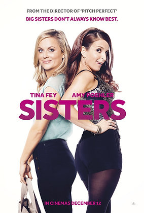 Sisters (Unrated) | HD | Movies Anywhere or VUDU | USA