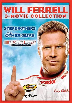 Will Ferrell: 3 Movie Collection | SD | Movies Anywhere or VUDU | USA