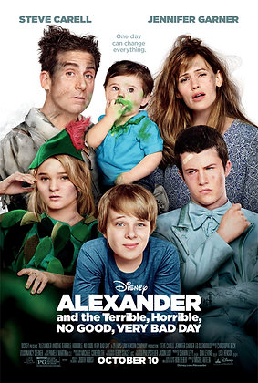 Alexander and the Terrible, Horrible, No Good, Very Bad Day | HD | MA | USA