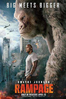 Rampage | HD | Movies Anywhere or VUDU | USA