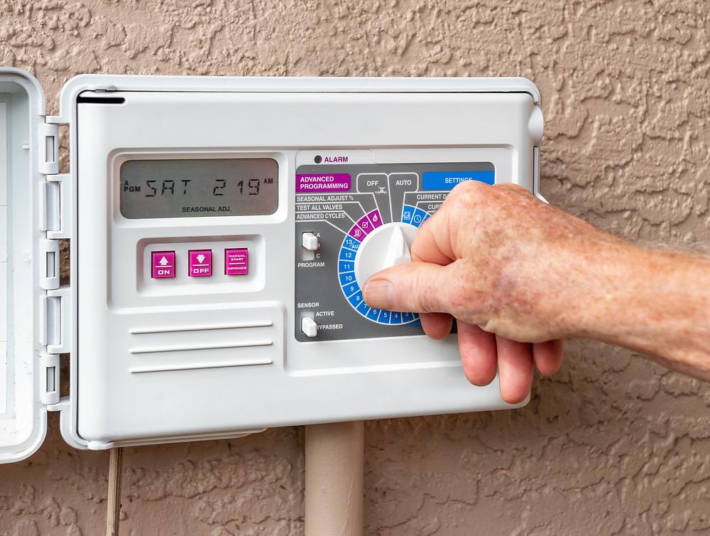 Irrigation Controller, Rain Bird, Apex Outdoor Systems, Lawn Sprinkler Timer