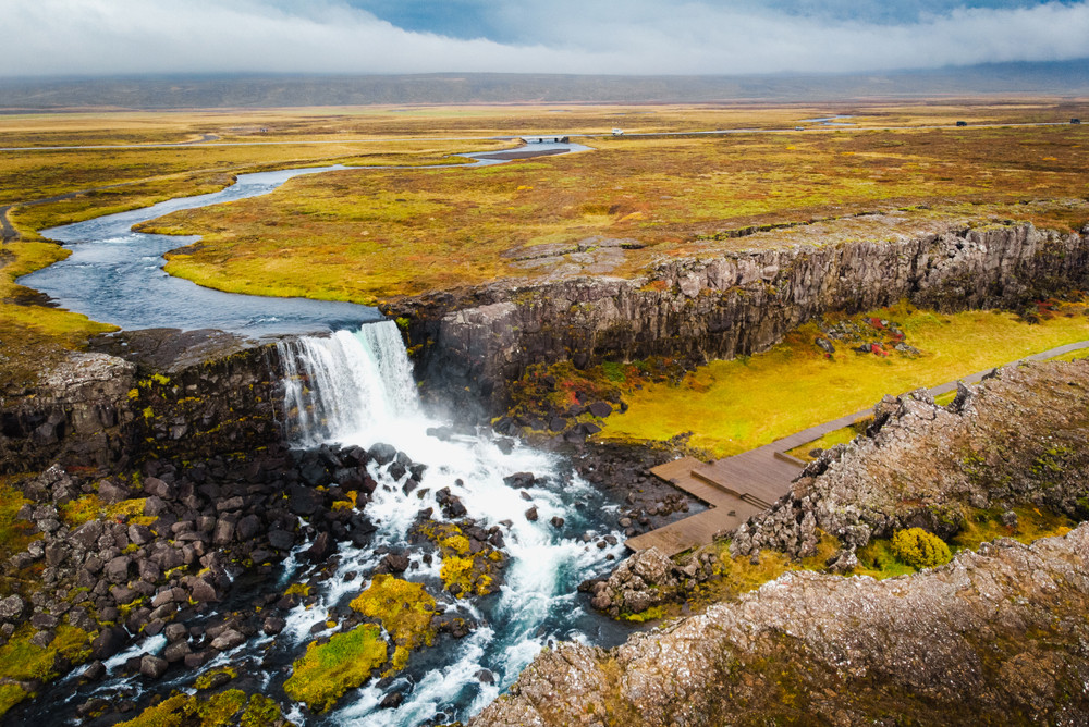 The greatest autumn activities in Iceland are also hiking and trekking