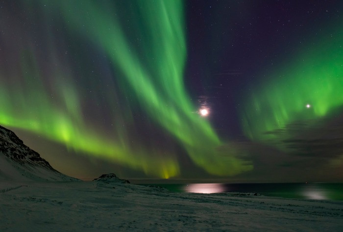 Taking photos of the Northern Lights is not easy and can only be done in winter months