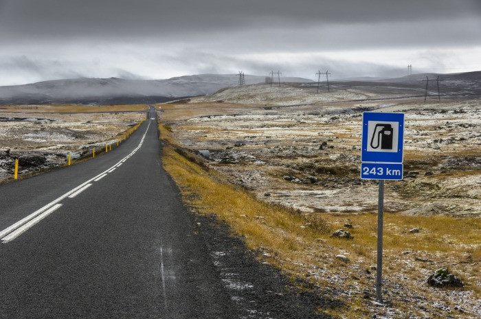 Some gas stations in Iceland are located far from the cities so it is worth filling in the tank in advance using the prepaid gas card