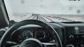 Driving on F-Roads to Askja