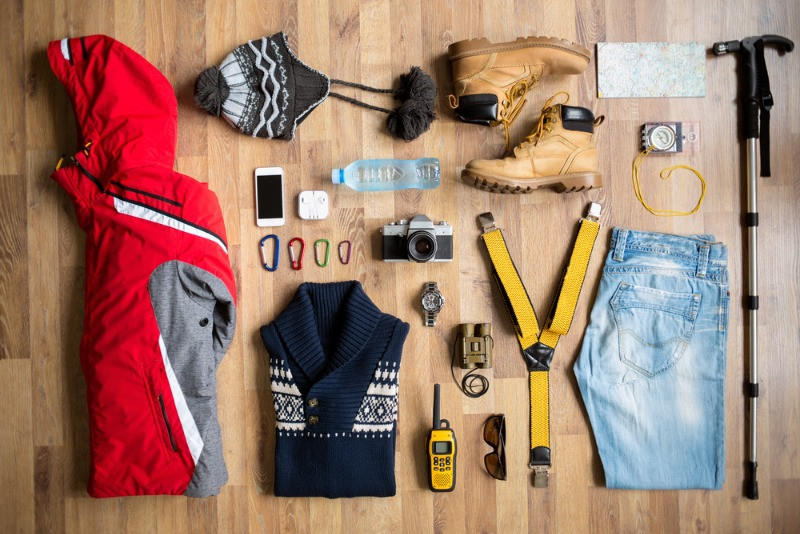 Packing for the Iceland backpacking trip