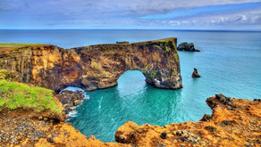 Iceland: Dyrholaey Peninsula; Reynisfjara Beach and Surroundings. South Iceland