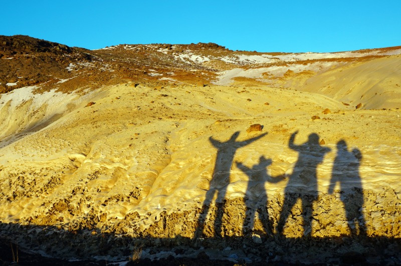 A family enjoying their Iceland family vacation trip