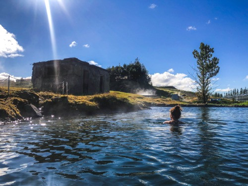The Secret Lagoon is one of the best and oldest hot springs in Iceland