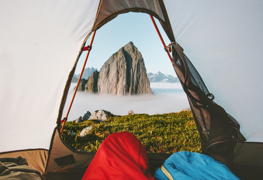 Right to roam in Norway allows wild camping in certain places