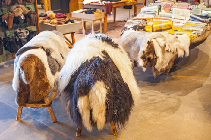 Icelandic wool is a traditional souvenir which you can buy anywhere in Iceland