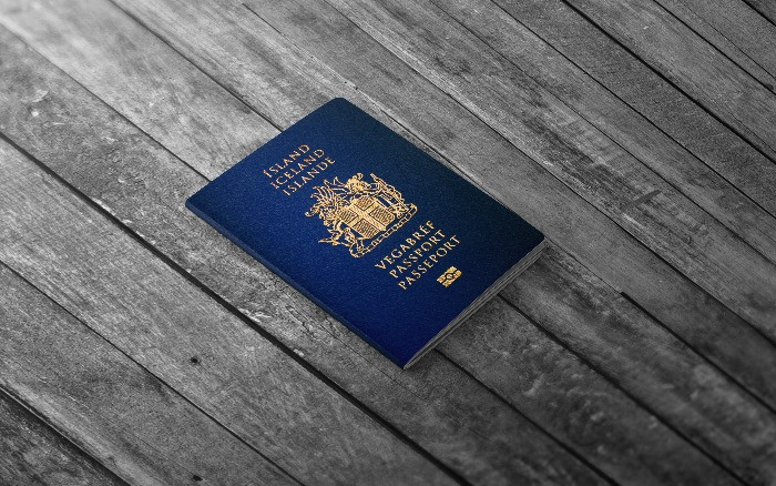 Icelandic passport which is required to travel to Iceland same as visa for some of the countries