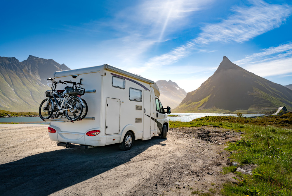 Right to roam in Norway applies both to motorhomes and tents