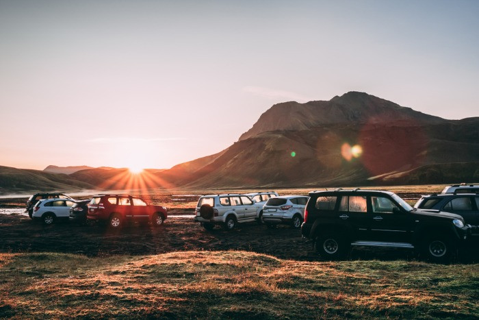 According to the right to roam in Iceland restrictions, you should stay on the campsites