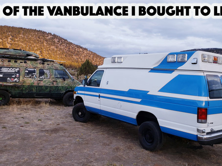 Tour Of The Ambulance Van I Bought to Live In
