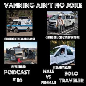 Podcast #16: Male Vs. Female Solo Traveler