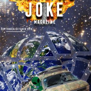 Vanning Ain't No Joke Magazine Issue #1