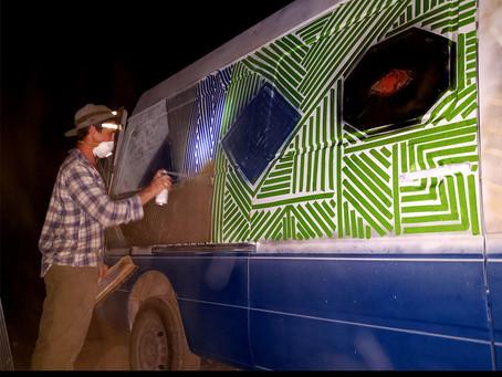 Painting The Former Business Guys Van: VANJ Podcast #3