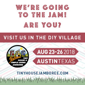 Find Me At The Tiny House Jamboree.