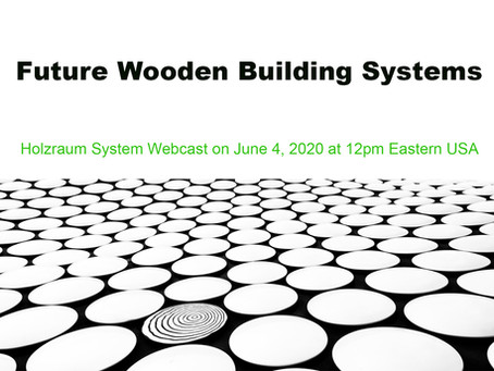 HolzChat #2: Future Wooden Building Systems