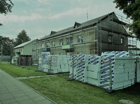 Daugiabučio namo modernizacijos darbai Kaišiadoryse
