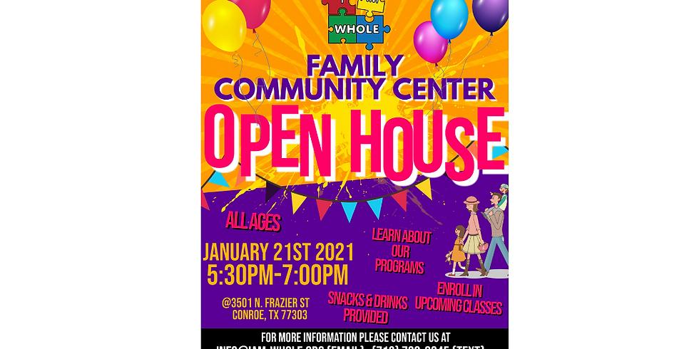 I Am WHOLE Family Community Center Open House