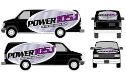 Power 105.1 Vehicle Wrap