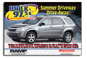 WALK Radio Newsday Ad
