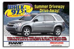 WALK Radio Newsday Ad