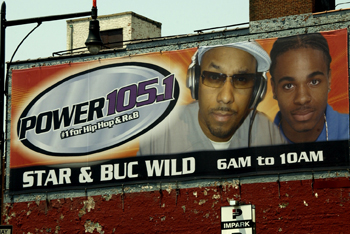 Power 105.1 Outdoor Billboard