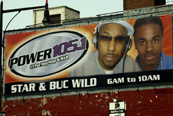 Power 105.1 Outdoor Billboard