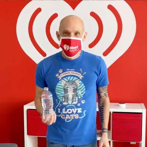 iHeart Radio face mask